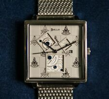 Barclay Past Master Masonic Watch - Free shipping!