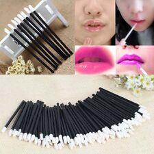 100Pcs Disposable Makeup Cosmetic Lip Brush Set Lipstick Gloss Wands Applicator