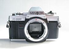 Analoge Spiegelreflexkamera Minolta X-300  Body