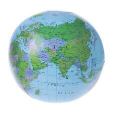 Inflatable World Map Globe Balloon Beach Ball Education Geography Kid Toys