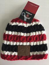 BNWT Genuine Jim Beam Merchandise Smart Stripe Acrylic Knit Adult Size Beanie