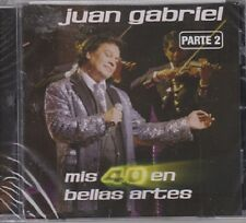 "*Juan Gabriel-""Parte #2-/Mis 40/Bellas Artes/International/Tejano Latin CD-*New*"