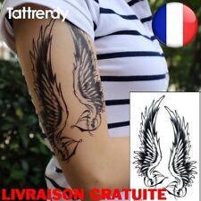 Tattoo Femmes Hommes imperméables épaule Sexy bras Ailes d'ange tatouages Mode