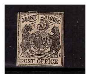 USA - ST LOUIS BEARS - 5 CENTS - MNG(*) - FAIR -SMALL FAULT IN CORNER - REPRINT?