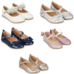 MOTHERCARE Girls Shoes Mary Jane Occasion Party Bridesmaid Spanish Traditional