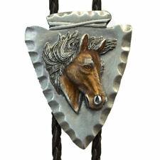 REF:BT-9504 Bolotie cheval cravate usa homme, femme