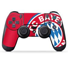 Sony Playstation 4 Contrôleur Film Autocollant Grand FC Bayern Munich Logo Rouge