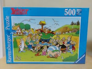 NEW Ravensburger Asterix and his Village 500 Pc Jigsaw Puzzle 14197