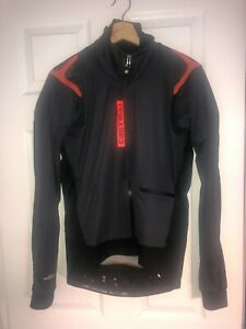 Castelli Rosso Corsa Men's Large Cycling Jacket Gore Windstopper GUC