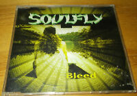 Soulfly Bleed CD single vgc