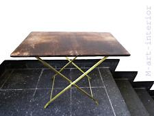 Wert 2500 € Tisch Mid-Century Modern Goatskin Coffee Table ALDO TURA, Italy,1960
