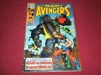 Avengers #69 marvel 1969 silver age 5.0/vg/fn comic! 1ST GRANDMASTER!!!!
