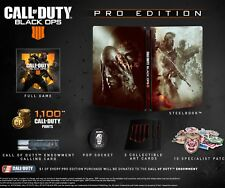 PS4 Call of duty Black ops 4 Pro edition 10/12/2018