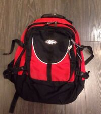 Eastpack Großer Rucksack Rot Viele Fächer