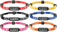 Sabona negative ion & magnetic athletic golf sports bracelet wristband