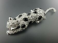 Kenneth Jay Lane KJL DUCHESS OF WINDSOR Cartier Articulated Panther Pin SIGNED