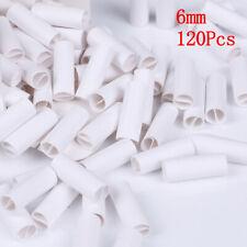 120x pré roulé naturel non raffiné cigarette filtre de papier à rouler conse_*wf