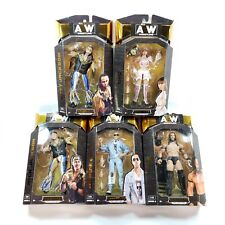 Lot of 5 All Elite AEW Wrestling Figures Series 3 Unrivaled Collection Brand NEW