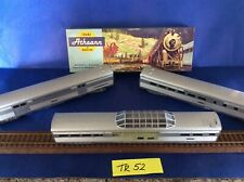 lot of 3 HO Athearn Observation passenger  Baggage NYC~STREAMLINE VISTA DOME