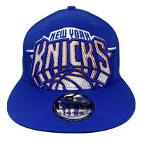 New Era New York Knicks 9Fifty 950 Blue Snapback Standout Embroidered Logo NWT
