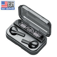Bluetooth 5.0 Earbuds for Iphone Samsung Android Wireless Earphones Waterproof
