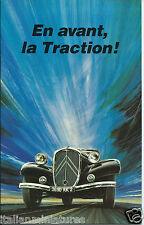 Citroen Traction En Avant la Traction Book 1984 Excellent Condition