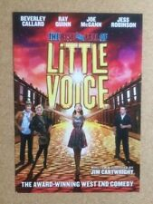 THE RISE AND FALL OF LITTLE VOICE / JESS ROBINSON Original Theatre Flyer