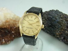 Rolex Oyster Perpetual Automatik 18 K / 750 Gold Herrenuhr Ref.: 1005 cal. 1570