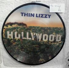 """Thin Lizzy Hollywood Pressure Will Blow 7"""" Picture Disc EX Vinyl Record LIZ PD10"""