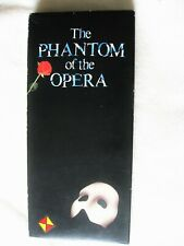 PHANTOM OF THE OPERA LONGBOX CD NEW WITH RED YELLOW LONDON CAST PROMO HYPE STICK