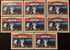 8 CARD LOT 2021 TOPPS HERITAGE CODY BELLINGER IN ACTION #146 LA DODGERS