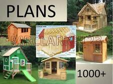 WORKING PLANS FOR PLAY, WENDY, SUMMER HOUSES AND SHEDS 1000+ on 1 CD!