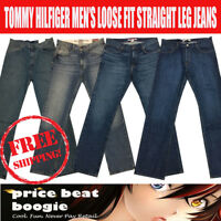Tommy Hilfiger Men's NWT  Straight Fit Jeans Collection Various Sizes Free Ship