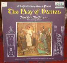 The Play of Daniel: A 12th Century Musical Drama, Decca LP, New York Pro Musica