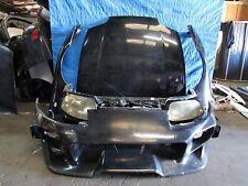 JDM 93-98 Toyota Supra JZA80 MKIV Front Nose Cut Conversion Hood VEILSIDE Bumper