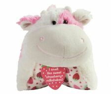 New Sealed- Strawberry Milkshake Cow Pillow Pet Sweet Scented 18 inch In Hand🔥