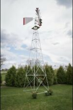 30Ft Tall Aluminum Ornamental Windmill, Made in the USA, Will Never Rust