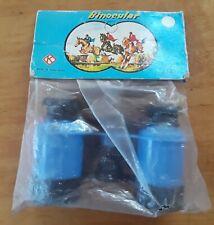 Vintage Plastic Toy Binocular Hong Kong NOS