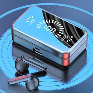 Bluetooth 5.1 Wireless Headphones Earphones Earbuds Mini In-Ear Pods For iPhone