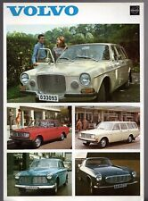 Volvo 1968-69 UK Market Leaflet Sales Brochure 121 122 142 144 145 164 1800S