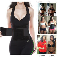 US Sport Waist Trainer Weight Loss For Women Sweat Thermo Wrap Body Shapers Belt