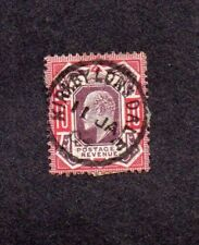 1904.EDWARD VII. 10d RED + PURPLE.'KIRKBY LONSDALE' C.D.S.SG 254.CAT VAL £75.