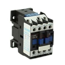 Hot Selling New CJX2-1210 AC Contactor Motor Starter Relay 3-Phase Pole