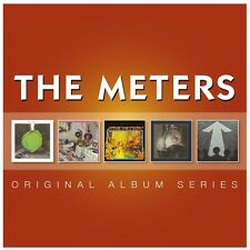 THE METERS 5CD NEW Cabbage Alley/Rejuvenation/Fire On Bayou/Trick Bag/Directions