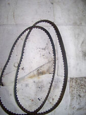 1981 Honda GL1100 GL 1100 Goldwing Front Engine Belts x2