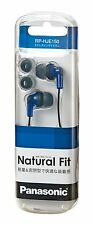 Panasonic Japan Inner Ear Phone Earphone HeadPhone RP-HJE150-A Blue