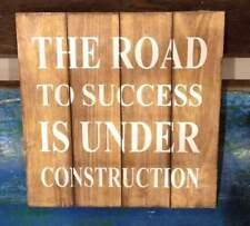 Wooden Inspirational Decorative Hanging Signs
