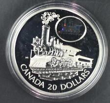 2001 Canada Transportation Series The Scotia 1oz Silver Round W/BOX & COA (C9081