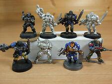 Classic Metal Space Marine Scouts partie peint (1075)