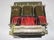 DSL 0,75S Trafo  Trafo Transformator prim.3x500V sek.3x220-500V NEU #20081